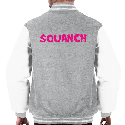 Rick and Morty Squanch Pink Men's Varsity Jacket