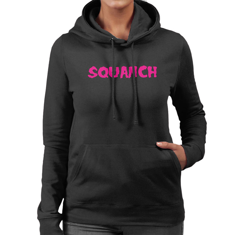 Rick and Morty Inspired Squanch Pink Women's Hooded Sweatshirt - NME Merch