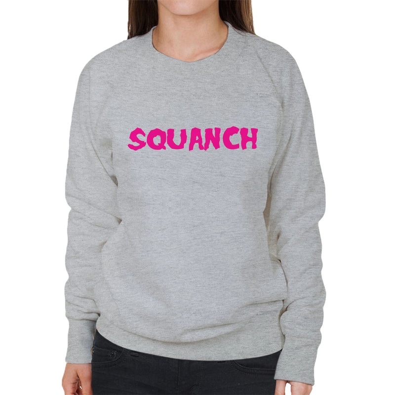 Rick and Morty Squanch Pink Women's Sweatshirt