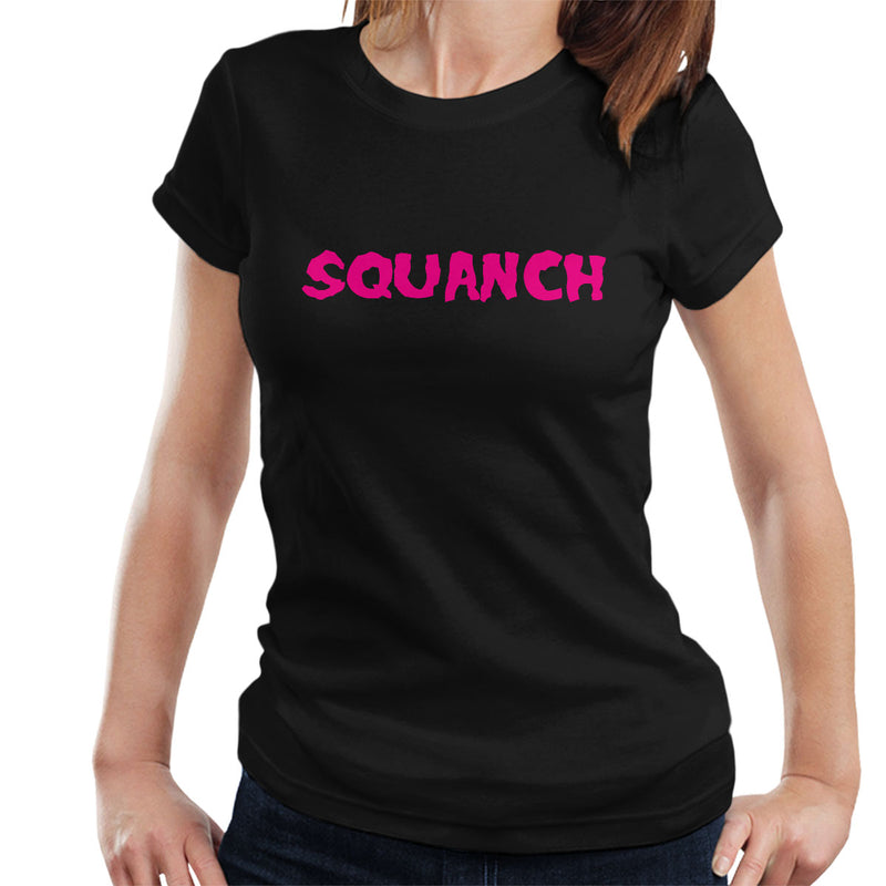 Rick and Morty Inspired Squanch Pink Women's T-Shirt - NME Merch
