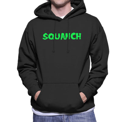 Rick and Morty Squanch Green Men's Hooded Sweatshirt
