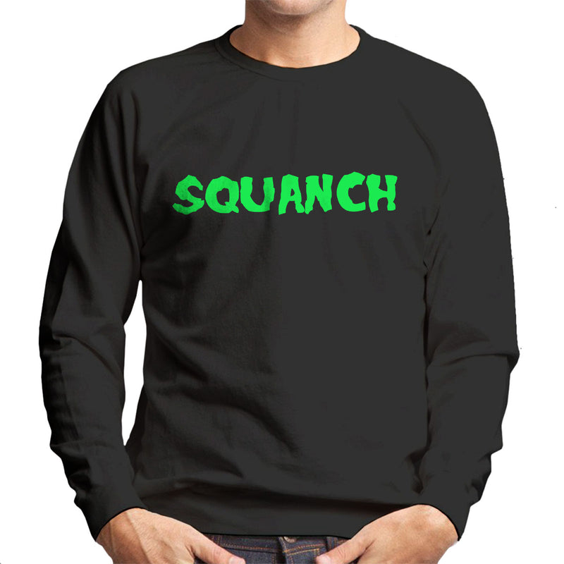 Rick and Morty Inspired Squanch Green Men's Sweatshirt - NME Merch