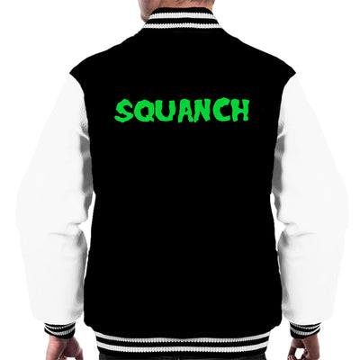 Rick and Morty Squanch Green Men's Varsity Jacket