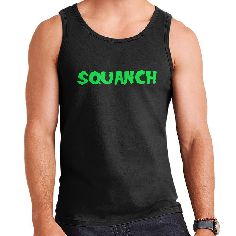 Rick and Morty Squanch Green Men's Vest
