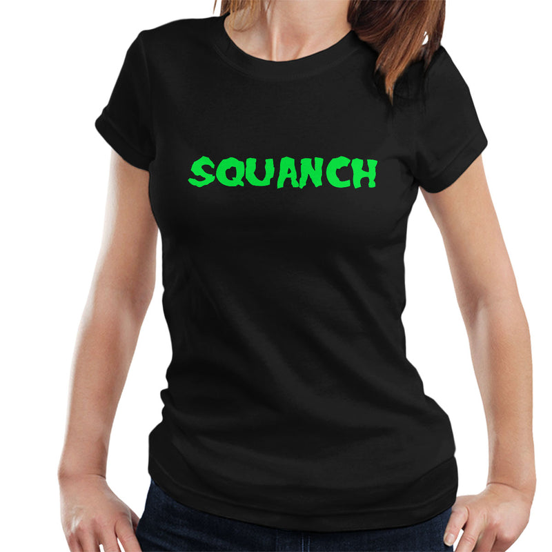 Rick and Morty Inspired Squanch Green Women's T-Shirt - NME Merch