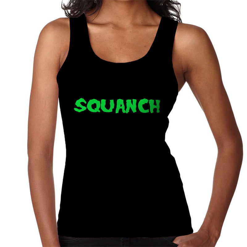 Rick and Morty Inspired Squanch Green Women's Vest - NME Merch