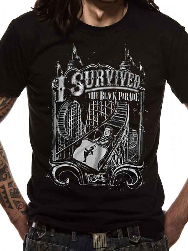 My Chemical Romance I Survived The Black Parade Men's T-Shirt - NME Merch