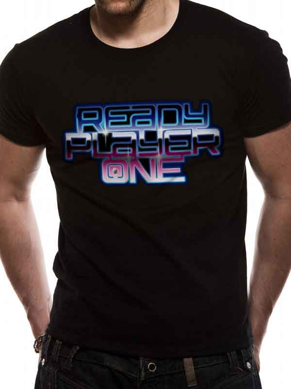 Ready Player One Logo Men's T-Shirt - NME Merch