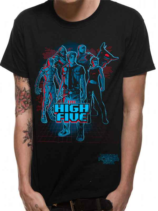 Ready Player One The High Five Men's T-Shirt - NME Merch