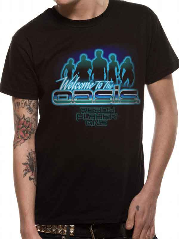 Ready Player One Welcome To Oasis Men's T-Shirt - NME Merch