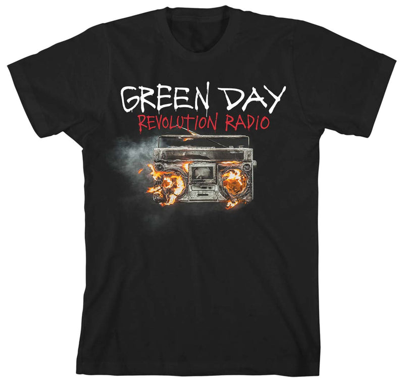 Green Day Revolution Radio Men's T-Shirt - NME Merch