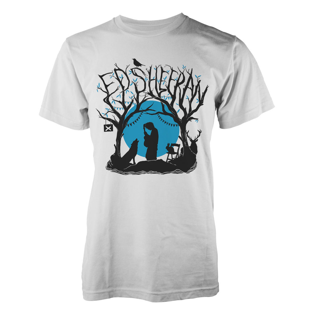 Ed Sheeran Woodland Gig Men's T-Shirt - NME Merch