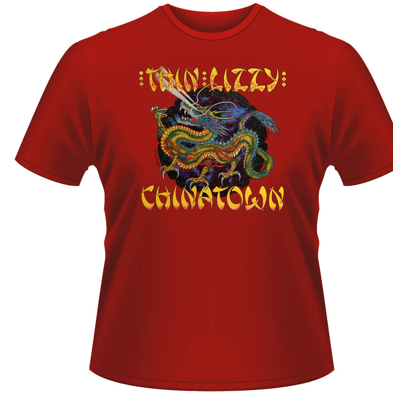 Thin Lizzy Chinatown Men's T-Shirt - NME Merch