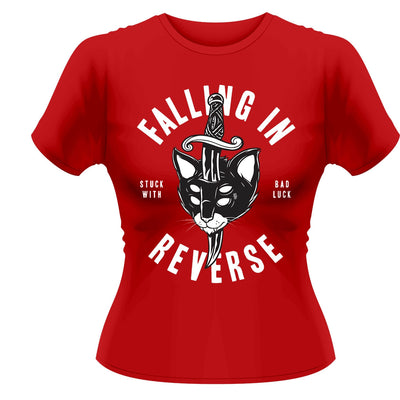Falling In Reverse Dagger Cat Women's T-Shirt - NME Merch