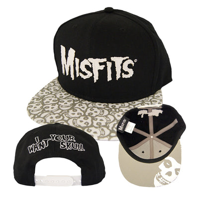 Misfits I Want Your Skull Baseball Cap - NME Merch