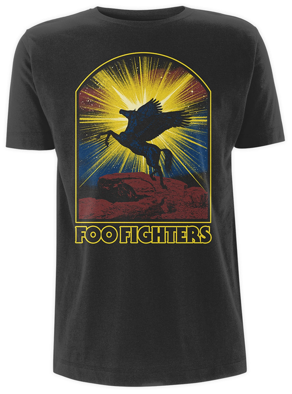 Foo Fighters Winged Horse Men's T-Shirt