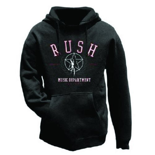 Rush Music Department Men's Hoodie - NME Merch