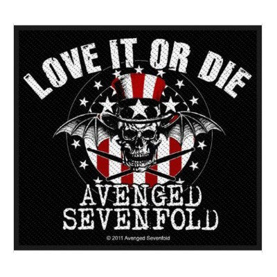 Avenged Sevenfold Love It Or Die Patch