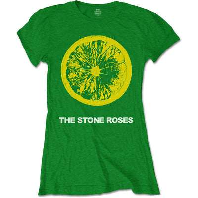 The Stone Roses Lemon & Logo Women's T-Shirt - NME Merch