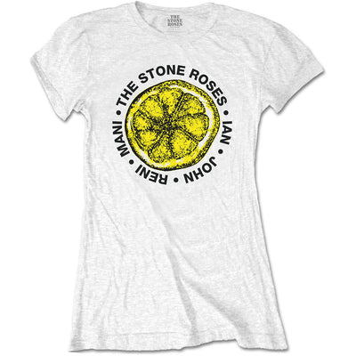 The Stone Roses Lemon Names Women's T-Shirt - NME Merch