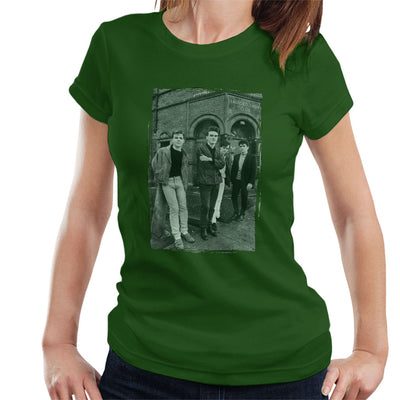 The Smiths In Manchester At Salford Lads Club Distressed Frame Women's T-Shirt