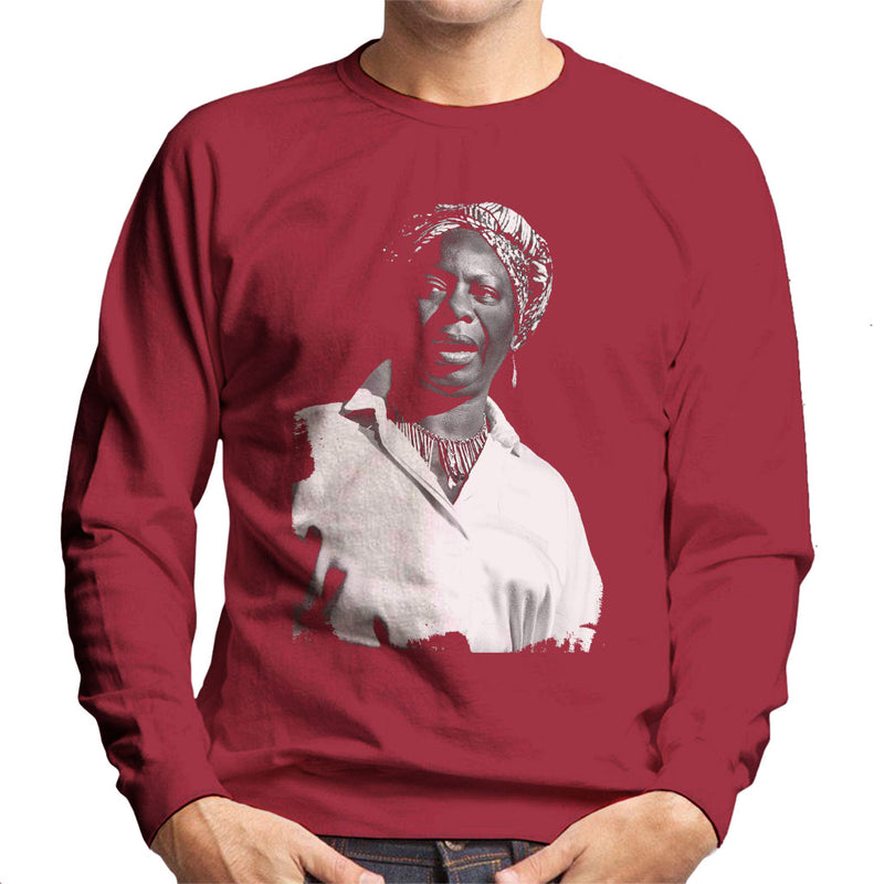 Nina Simone At The Royal Albert Hall 1998 Men's Sweatshirt - NME Merch