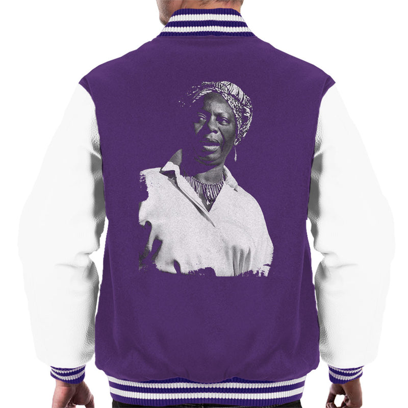 Nina Simone At The Royal Albert Hall 1998 Men's Varsity Jacket - NME Merch