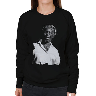 Nina Simone At The Royal Albert Hall 1998 Women's Sweatshirt