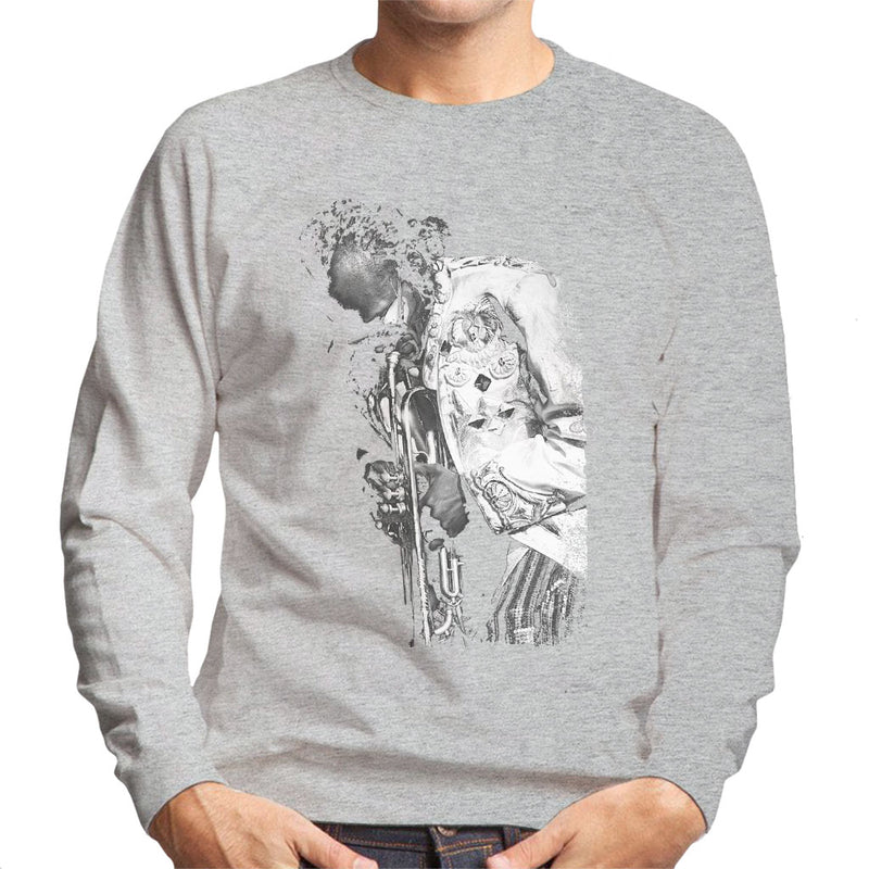 Miles Davis Playing In London 1986 Men's Sweatshirt - NME Merch