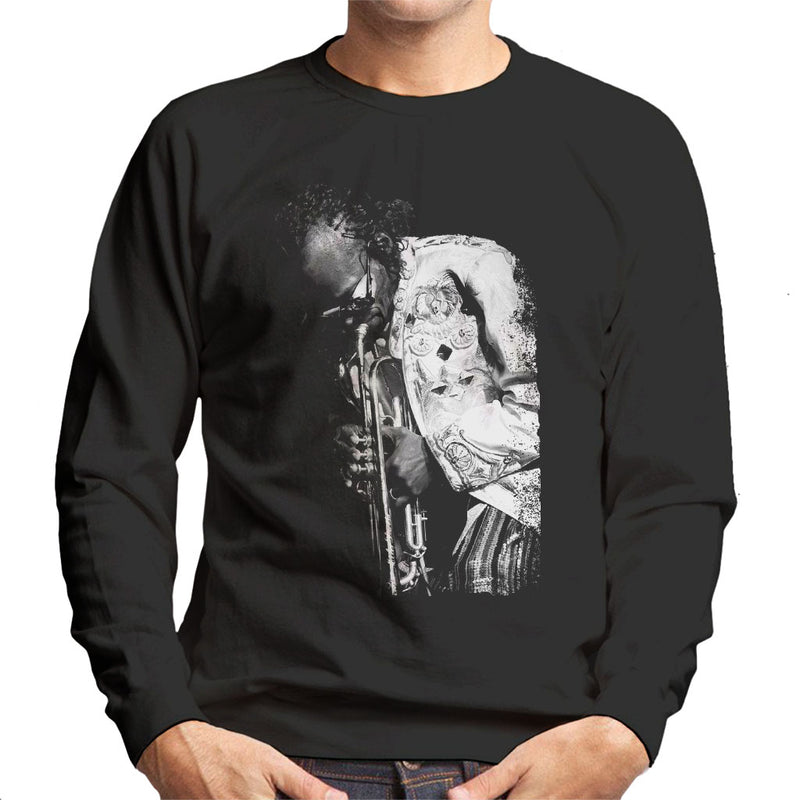 Miles Davis Playing In London 1986 Men's Sweatshirt