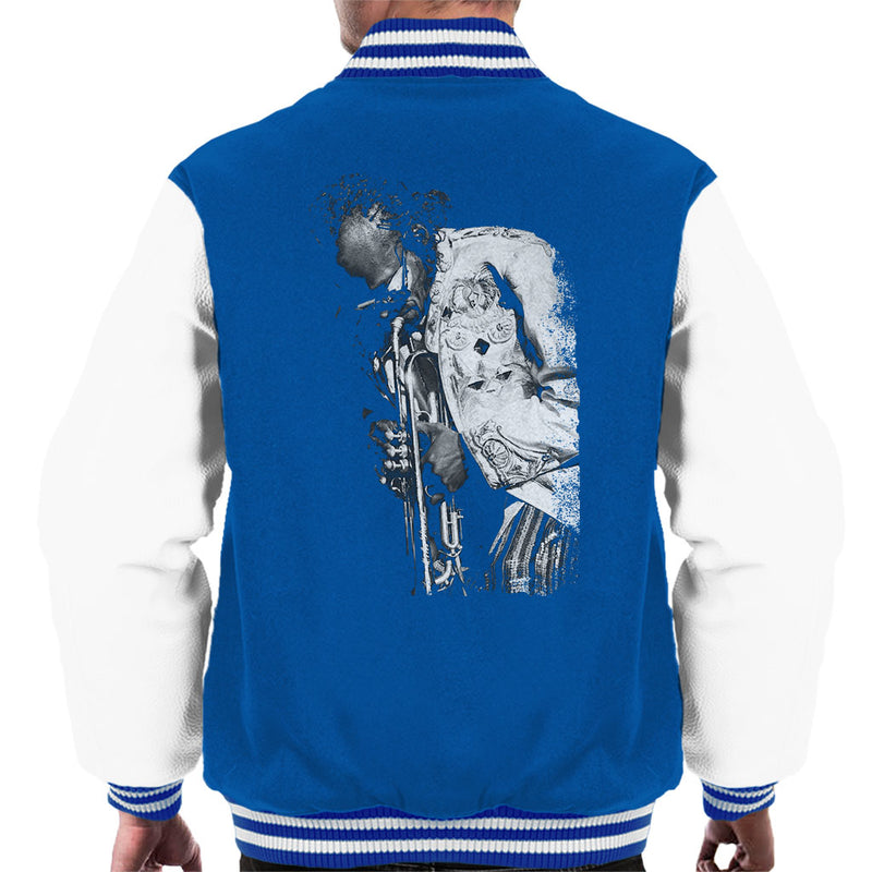 Miles Davis Playing In London 1986 Men's Varsity Jacket - NME Merch