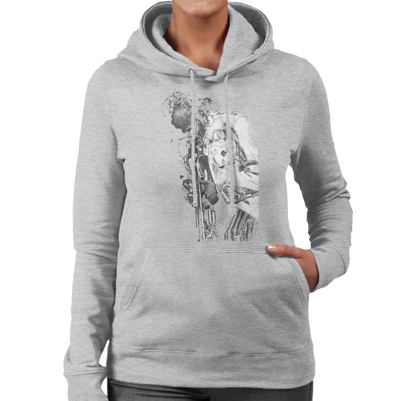 Miles Davis Playing In London 1986 Women's Hooded Sweatshirt - NME Merch