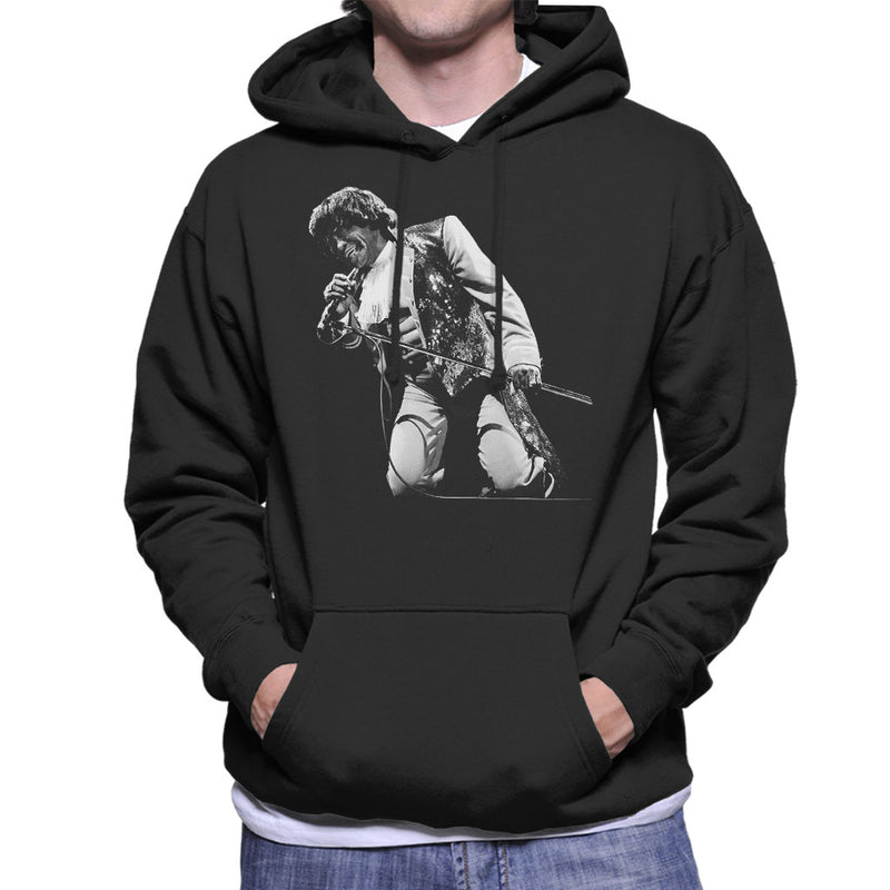 James Brown Playing At Wembley 1991 Men's Hooded Sweatshirt - NME Merch