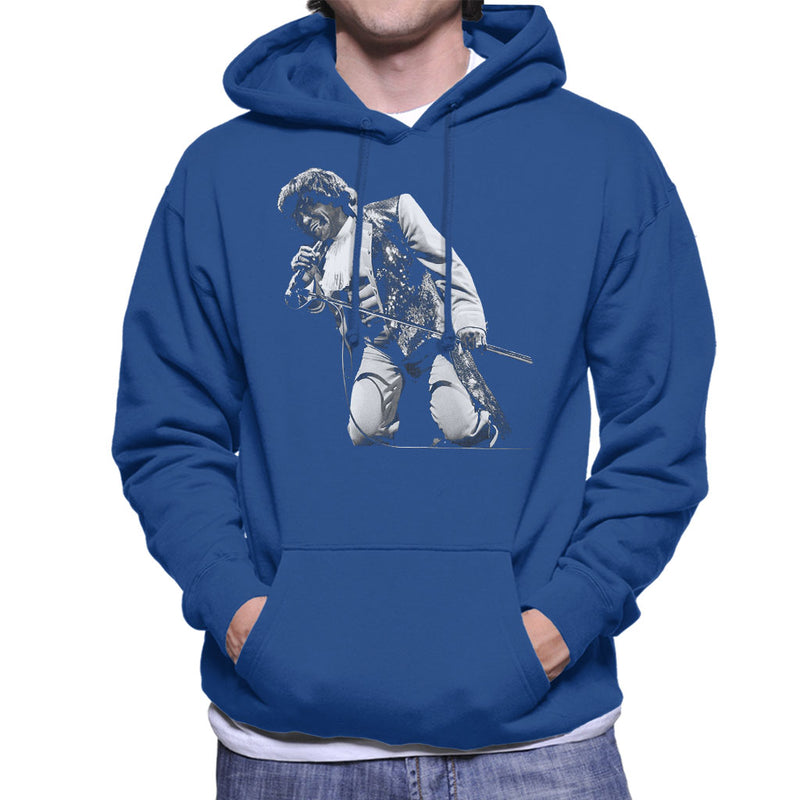 James Brown Playing At Wembley 1991 Men's Hooded Sweatshirt