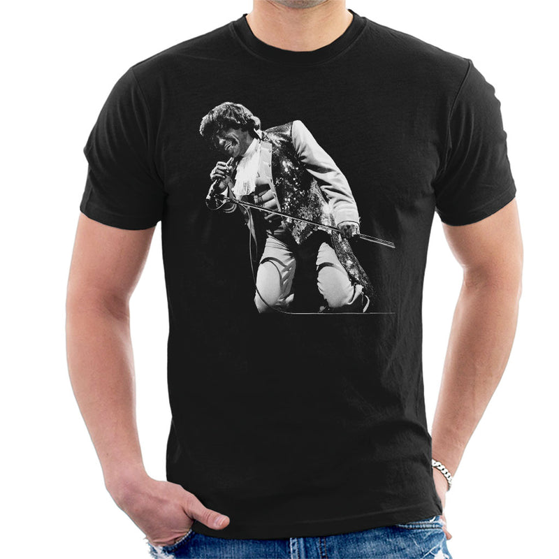 James Brown Playing At Wembley 1991 Men's T-Shirt - NME Merch