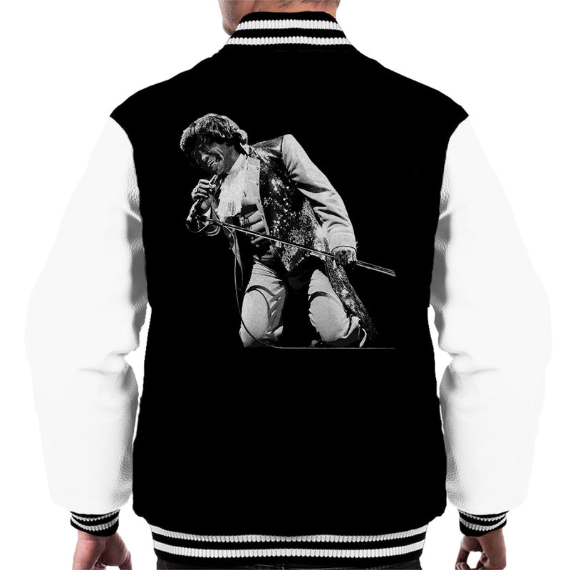 James Brown Playing At Wembley 1991 Men's Varsity Jacket - NME Merch