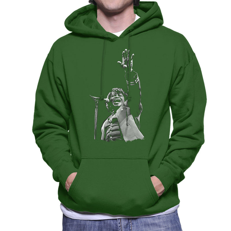 James Brown Live At Wembley 1991 Men's Hooded Sweatshirt - NME Merch