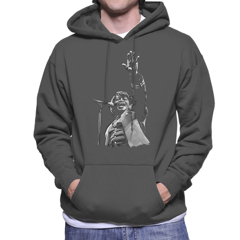 James Brown Live At Wembley 1991 Men's Hooded Sweatshirt