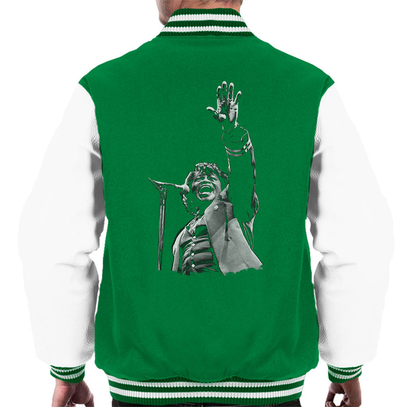 James Brown Live At Wembley 1991 Men's Varsity Jacket - NME Merch