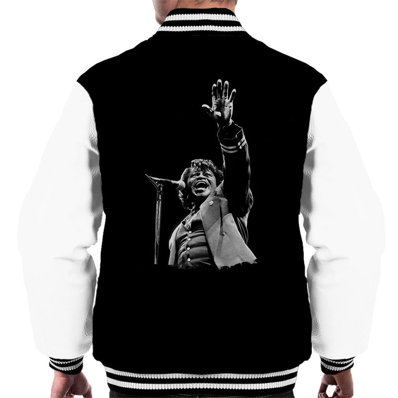 James Brown Live At Wembley 1991 Men's Varsity Jacket