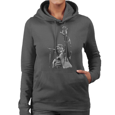 James Brown Live At Wembley 1991 Women's Hooded Sweatshirt