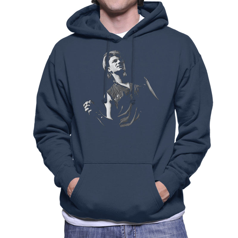 Bono Of U2 War Tour UK 1983 Men's Hooded Sweatshirt - NME Merch