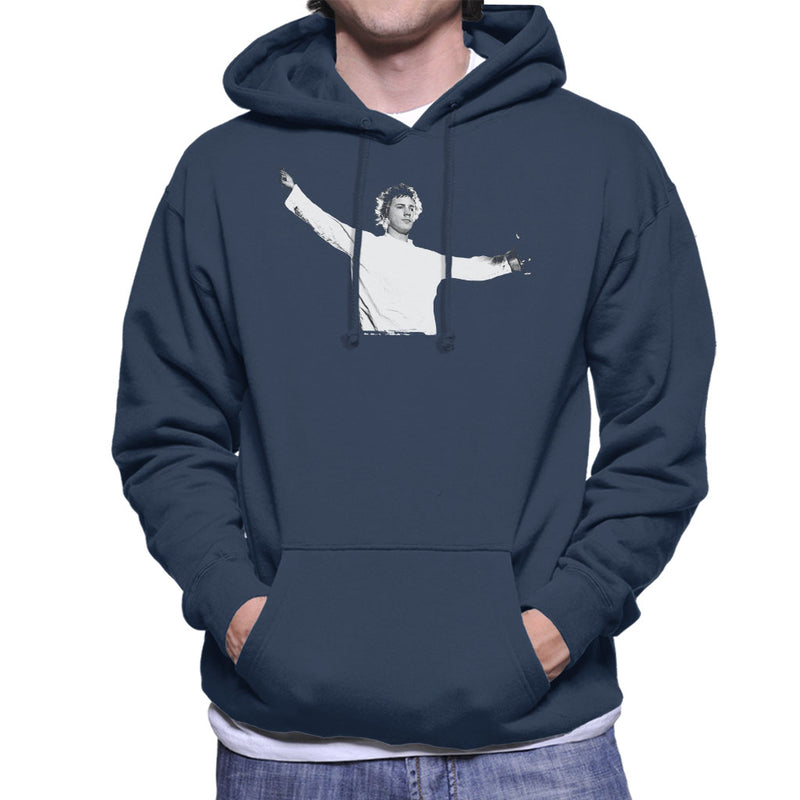 John Lydon Johnny Rotten Manchester Apollo 1986 Men's Hooded Sweatshirt - NME Merch