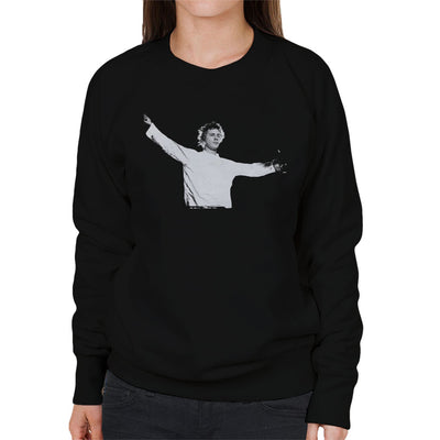 John Lydon Johnny Rotten Manchester Apollo 1986 Women's Sweatshirt