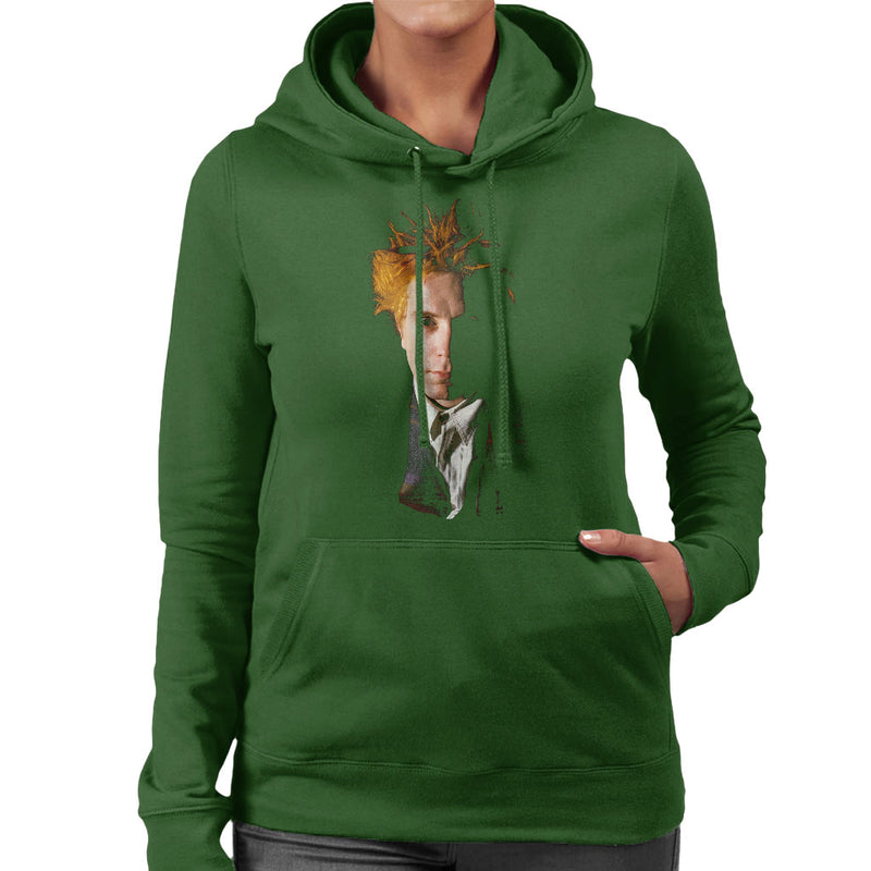 John Lydon Johnny Rotten Of Public Image Ltd Women's Hooded Sweatshirt - NME Merch