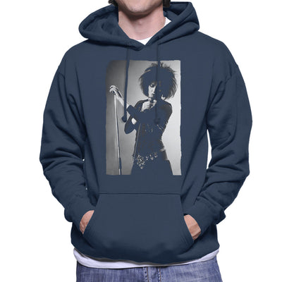Souxsie Sioux Live Black And White Men's Hooded Sweatshirt