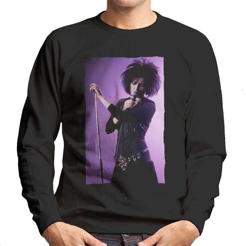 Souxsie Sioux Live Colour Men's Sweatshirt - NME Merch