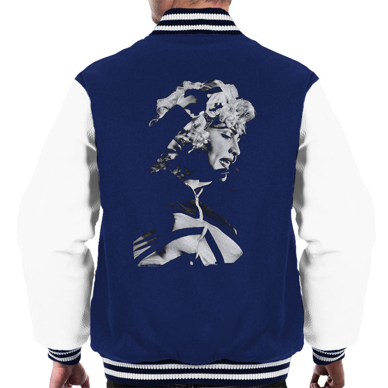 Madonna Wembley Stadium Blonde Ambition Tour 1990 Men's Varsity Jacket - NME Merch