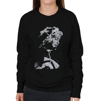Madonna Wembley Stadium Blonde Ambition Tour 1990 Women's Sweatshirt