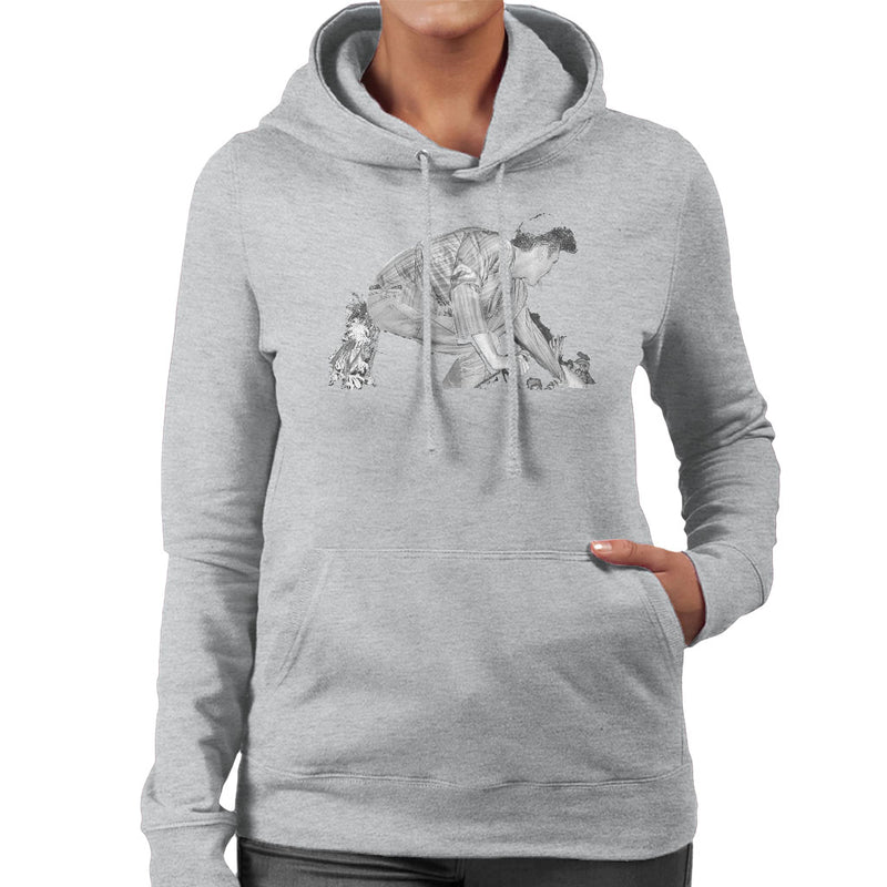 The Smiths Morrissey On Stage Meeting The Crowd Women's Hooded Sweatshirt - NME Merch